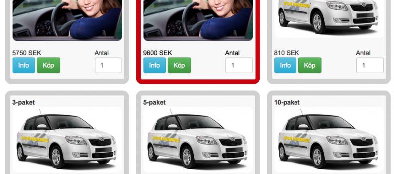Nu kan du köpa våra tjänster online!